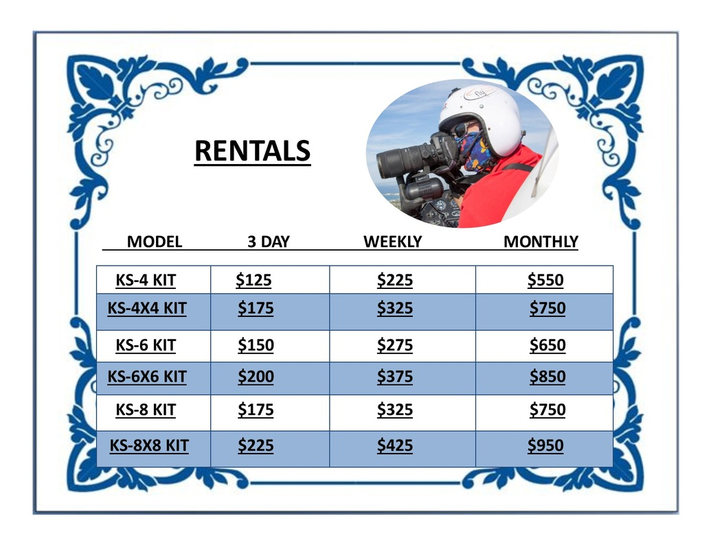 Kenyon Gyro Rental Price List